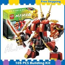 Bela 9790 New Kais Fire Mech Kay Flame Mecha Robot Ninja Building Blocks Kids Educational Toys Compatible lego