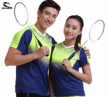 2017 SEA PLANETSP Sportswear sweat Quick Dry breathable badminton shirts , Women/Men table tennis clothes game POLO T Shirts
