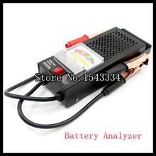 Free shipping Digital Car Automative Vehicular Auto Battery Tester Checker Analyzer 12V 100A Voltage Indicator(China)