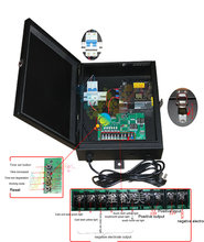High quality one intersection intelligent DC 12V traffic light controller