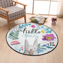 Plans to customize Modern Handmade carpets Living room Bedroom Fashion creative Coffee table sofa Individuality Trend Carpet
