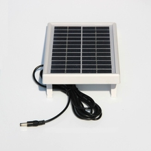 HOT 3W 12V Mini Solar Cell Polycrystalline Solar Panel DIY Panel Solar Power Battery Charger+DC 5521 Cable 3M  Free Shipping