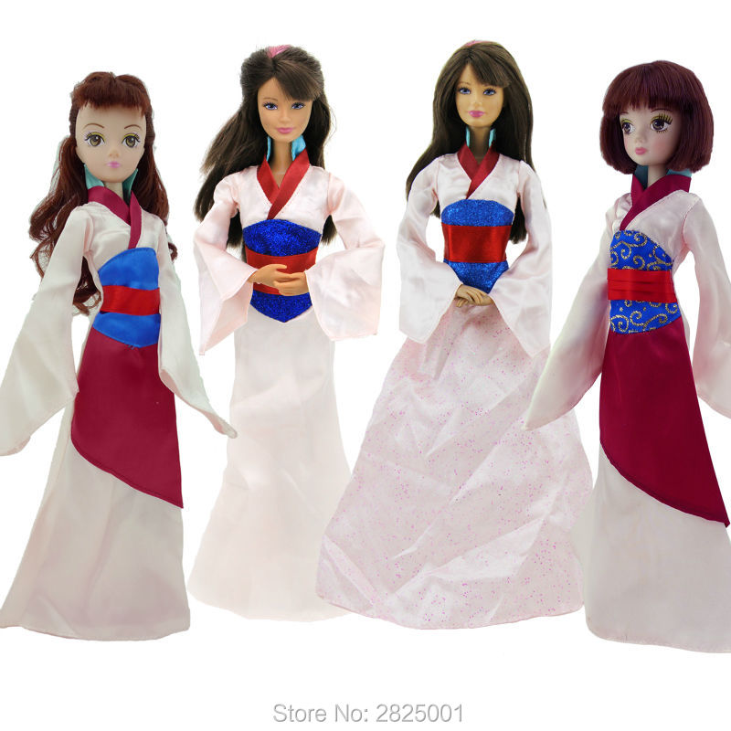 Detail Feedback Questions about 1x Fairy Tale Outfit Copy Mulan ... 13de1fb19090