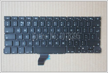 "New For Apple Macbook Pro Retina 13"" A1502 Keyboard Replacement ME864 ME865 ME866 UK Laptop Keyboard(China)"