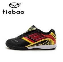 Tiebao Professional TF Turf Sole Football Boots Men Training Shoes Sneakers Outdoor Sports National Flag Soccer Cleats