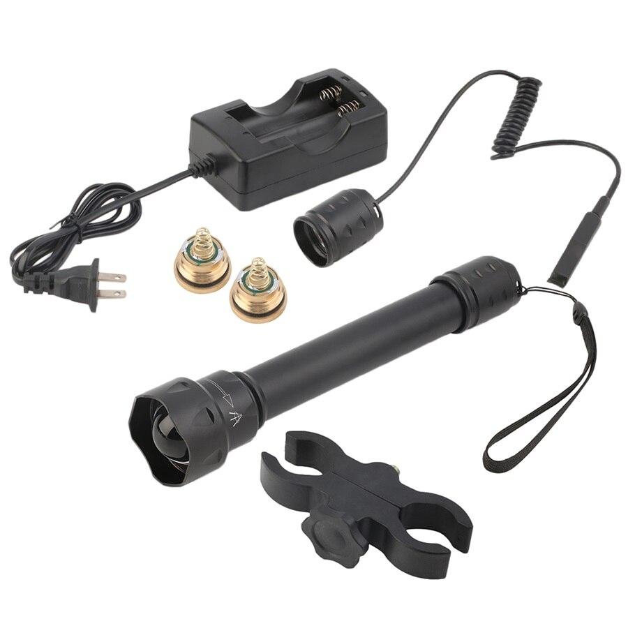 1 Set UniqueFire 1501 IR 850NM Infrared Flashlight  Presssure Switch  Mount  New Arrival<br><br>Aliexpress