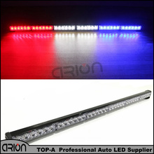 CRION 36 LED 108W Emergency Vehicle Strobe Lights Windshields Flash Warning Red White Blue LED Police Fireman Lamp Free Shipping
