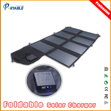 New Arrival PORTABLE 18V 28W Solar Panel Charger Power Bank Ourdoor Camping Charger for iphone samsung Laptop solar panel(China)