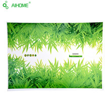 Creative DIY Green Grass Wall Sticker home decal wall stickers kitchen Door Bath children furniture wall stickers for Bedroom