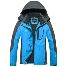 Spring autumn men Outdoor jacket Windproof Camping Hiking sports coat fishing tourism mountain jacket waterproof(China)