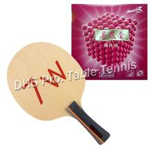 Pro Combo Racket Table Tennis Paddle 61second 7W Blade with 2x Reactor Corbor Rubbers Shakehand long FL