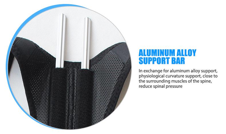 OPER adjustable Shoulder back belt posture corrector back support brace Posture belt Back Brace rectify health care   (2)