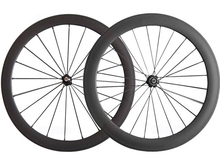 clincher carbon bicycle mixed wheel set rim 50mm+60mm 23wide road racing wheelsets Chinese bicycle parts online taiwan bike tech