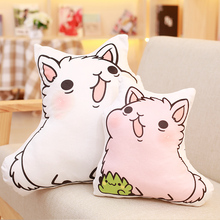 Hot Cartoon Lovely Alpaca Sheep Plush Toy Lovely Stuffed Pilloow Room Decoration Kids Toy Children Birthday Gift 25cm/35cm
