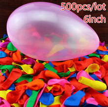 500pcs/lot 6Inch Latex balloons Thickening globos Apple ball quintain ball filled with water toys party balls air baloes