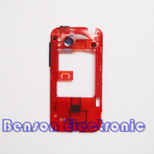 BaanSam New Middle Frame Middle Holder For HTC Rezound Vigor Ruby 2 Housing Case With Power Volume Buttons+Camera Lens