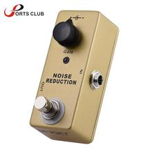 MOSKY MP-40 Noise Gate Noise Reduction Suppressor Mini Single Guitar Effect Pedal True Bypass Gold Color Guitarra Effect Pedal
