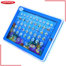 Hot Sale Kids English Learning Tablet Teach LED Pad Educational Toy Tablet For Children brinquedo educativo Funny juguetes