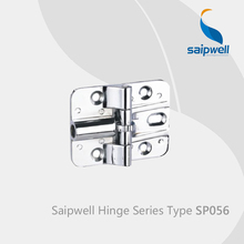 Saipwell SP056 kitchen cabinet hinges hardware glass shower door hinges hinges folding sliding doors 10 Pcs in a Pack