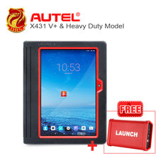 [Launch Dealer] 100% Original launch X431 V+ Scanner support Wifi/Bluetooth HD Heavy Duty Truck Diagnostic Module(China)