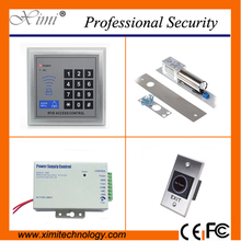 High quality single door access control without software with 12V3A power supply exit button and electromagnetic lock