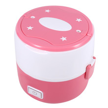 220v 2layers Mini Rice Cooker Electric Lunch Box Multifunctional  Heat Preservation Kitchen Dinnerware