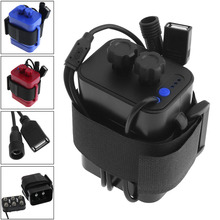 Portable 18650 Battery Case Box Practical Bicycle Bike LED Light / Mobile Phone Waterproof Battery Case Box 6x18650(China)