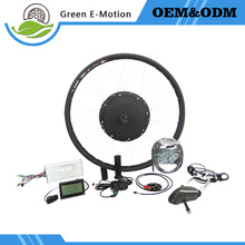 ANNOYBIKE 70km/h 48V1500W electric bike conversion kits 16''/18''/20''/24''/26''/700c/28'' rear wheel kit with LCD Controller