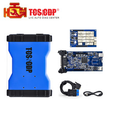 Best Selling Blue tcs cdp pro  car truck Diagnostic tool Multi-language cdp 2014.03 free keygen software Free shiping
