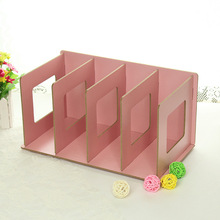 2016 New Arrival Fashion Style DIY Book CD Storage Holders Many Colors Wood Creative Multi-function Storage Racks(China)
