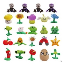 1pcs 13-20cm 8 Styles Plants vs Zombies Plush Toys Soft Stuffed Plush Toys for Kids Gifts Baby birthday Party Toys Doll