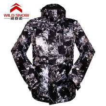 Top Quality men skiing jackets Breathable Waterproof Ski Jacket men Snow Winter men's ski clothing Thicken Warm Snowboard Jacket