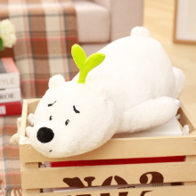 30cm Little Bear plush kids toys Soft pp Cotton kawaii stuffed doll baby Sleeping Pillow birthday gifts