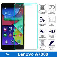 Screen Protector for Lenovo A7000 Tempered Glass 9H Safety Protective Film On K3 Note A 7000 Dual Sim Plus pelicula de vidro