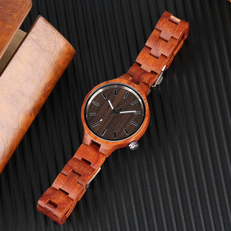 Creative Women's Fashion Wood Watches Women Handmade Bamboo Wristwatch Full Wooden Strap Novel Quartz Watch Relogio Feminino HOT 2017 Rich Women (13)