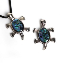 36*55MM Antique Silver Plated Necklace Pendant with Natural Abalone Shell Interface For Necklace Jewerly Pendant Making