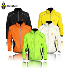 WOLFBIKE Windproof Bicycle Jackets Bicicleta Ciclismo Maillot Men Sportswear Jersey Dust Rain Coat MTB Cycling Raincoat Clothing