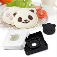 1 Set 3D Cute Panda Modeling Sandwich Mold Child DIY Mold Sandwich Maker Cake Tool Bread Mold Japan Import