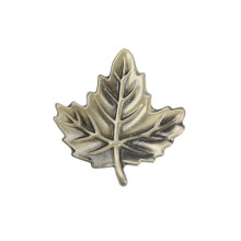 Vintage Leaf Furniture Handle For Dresser Closet Drawer For Kitchen Cupboard Antique Cabinet Pull Knobs(China)