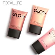 Bling FOCALLURE Glow Highlight Powder Bright Liquid Illuminator 4 Colors 2017 Hot product discount beauty(China)