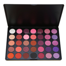 35 Color Eyeshadow Palette Make up Pallete Shimmer Matte Powder Beauty Makeup Set Smoky Eye Shadow Make UP Kit P2(China)