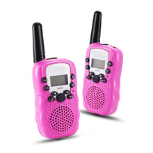 1XChild Kids Walkie Talkie Parenting Game Mobile Phone Telephone Talking Toy 5-8KM Range for kids