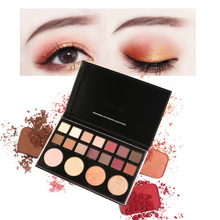 FOCALLURE 18-Color Eyeshadow Brighten Multi-functional Palette Women Eyes Cosmetic Earth Tone Shimmer Glitter Brighten Powder(China)
