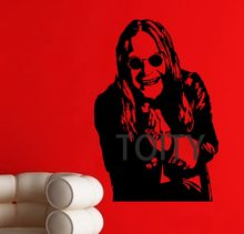 Ozzy Osbourne Wall Poster Sticker Heavy Metal Singer Vinyl Decal Decor Bar Club Dorm Home BedRoom Music Mural(China)