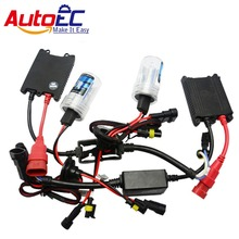 AutoEC H1 H3 H4 H7 H8 H11 9005 9006 880 881 HID KIT SET HID XENON SYSTEM 35W hid conversion kit(China)