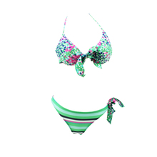 Two piece bodysuit snap crotch bodysuit diving S M L XL bikinis transparentes christmas swimwear Swimming Clothes for women(China)