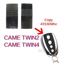 came remotes CAME TWIN2 / CAME TWIN4 Series Self learning 433.92mhz Universal Remote Control  include