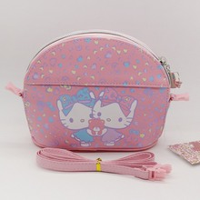 High-quality PU Cartoon shoulder bag Waterproof hello kitty Evening bags