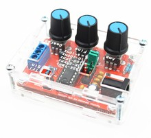 XR2206 Function Signal Generator DIY Kit Sine/Triangle/Square Output 1Hz-1MHz Adjustable Frequency Amplitude