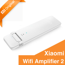 Original Xiaomi Wifi Amplifier 2 Wireless Wi-Fi Repeater Network Router Extender Antenna Wifi Repitidor Signal Extender 300Mbps(China)